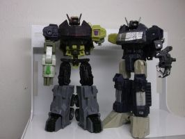 Custom Shockwave Trinity WIP by forever-at-peace