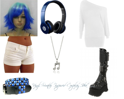Vinyl Scratch Inspired Cosplay Idea by DrSpencerReidBietch