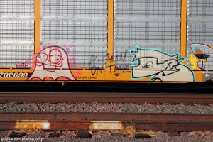 AMFM Ghost with Train Face by worldtravel04