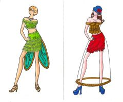Disney High Fashion Tink+Belle by CaptBeans