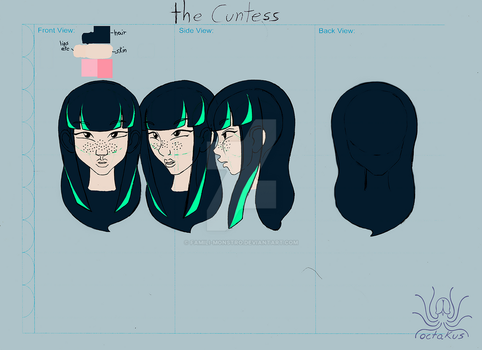 the Cuntess face and color by famili-monstro