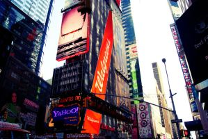 Time Square IV by anacletus
