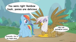 Rainbow Dash was right by VoreEditer