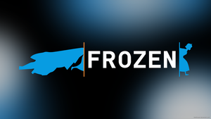 Frozen/Portal 2 Crossover Wallpaper by DeathNyan