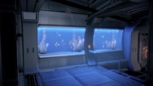 Shepard's quarters - fish tank by loraine95