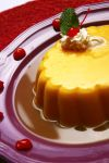 Flan with cherries by DrewCastle