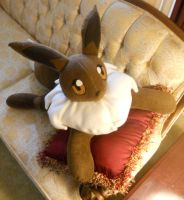 Large Eevee Plush by PakajunaTufty