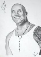 Dwayne Johnson by LaurenMi