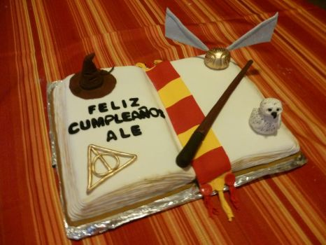 how to make a harry potter cake youtube