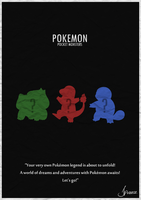 PokemonPoster by Preecey