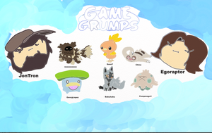 Game Grumps Pokemon Team by SwiftWolf4