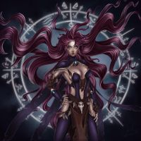 Exiled Mage by Churail