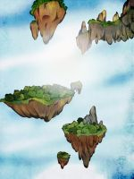 Floating Islands by Pallore-M