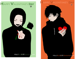 Valentine card by buta0309