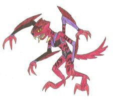 Ben 10 alien: Wolf Spider by Xelku9