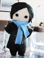 Sherlock plushie by Haldthin
