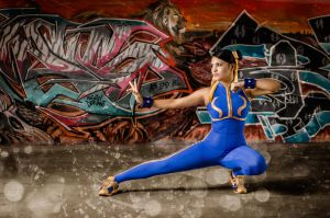 Chun Li Street Fighter Alpha Photo By.RogerRamirez by harleykmc