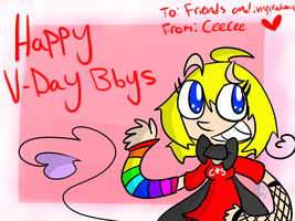 Happy V-Day to my Friends and Inspirations~ by ceeceeroxx
