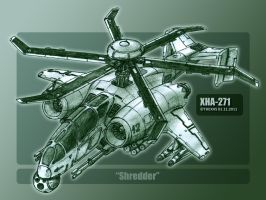 XHA-271 Shredder by TheXHS