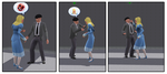 [TS3] Princess VS Stooge by ZeFrenchM