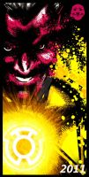 Sinestro Poster by SeedofSmiley