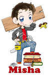 Keychain Misha by HeroesDaughter