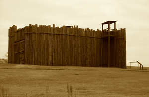 The North Gate Sepia by SergeantKilrain