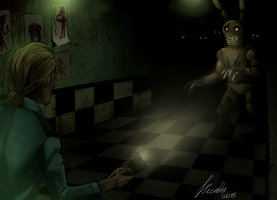 Five Nights at Freddy's 3 by Hecatta
