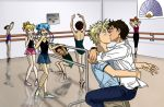 Kissing at the Barre -yaoi- by insectikette