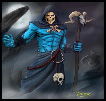 Skeletor by archerion