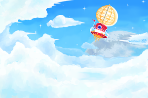 Mario In The Sky by ShadedPenumbra