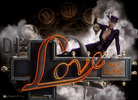 Steampunk Dr. Love by Kachinadoll