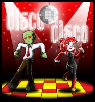 Zombie disco by Carlos-the-G