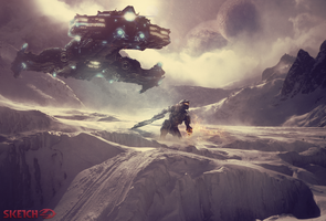 [Manipulation] - Halo 4 by SKetch-GFX