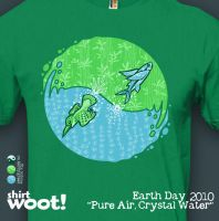 Pure Air, Crystal Water tee by InfinityWave