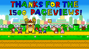 1500 pageviews! by mariotimemugen