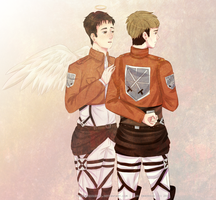 SnK | Jean x Marco. Take care! by KsiezniczkaOlya