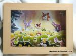 The Bug's World in Shadowbox by Swadloon