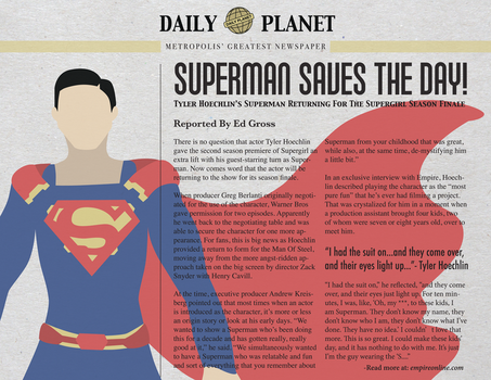 Superman Saves The Day! by Moy-El