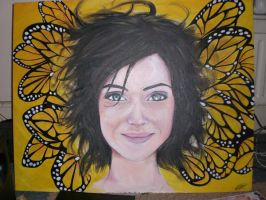 lucy's birthday painting by harrynotlarry