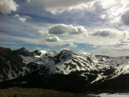 The Rockies by LarkspurSparrow