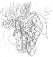 Strife Sketch by Mellamo