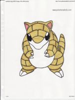 Sandshrew by kittyk2000