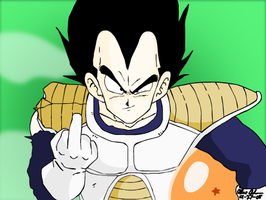 Vegeta Namek Saga by aka-bloodfang1