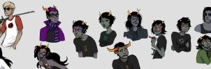 Homestuck shizzle by TheScatterbrain