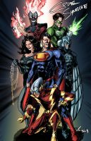 New 52 Crime Syndicate by randomality85