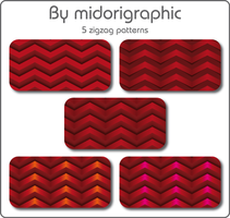 zigzag pattern by midorigraphic