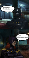 Injustice: Barbara Gordon vs Cassandra Cain by TheDeadstroke