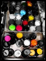 box of colors by dektan