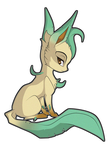 Leafeon by Sugarcup91
